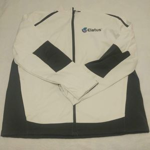 Port Authority White & Black Jacket Size 2X